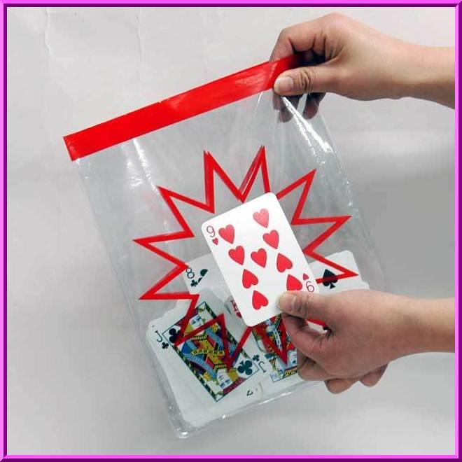 ♪こんなバッグが欲しかった!!♪ ◆マジック・手品◆クリアー フォーシングバッグ◆V5321