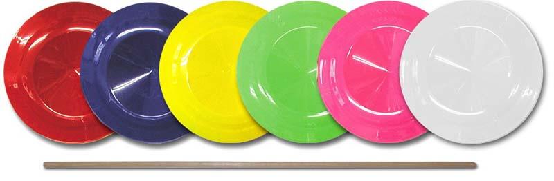 ジャグリング 皿回し ジャグリング関連 お得 木製スティック スピニングプレート 流行のアイテム NRSP-1