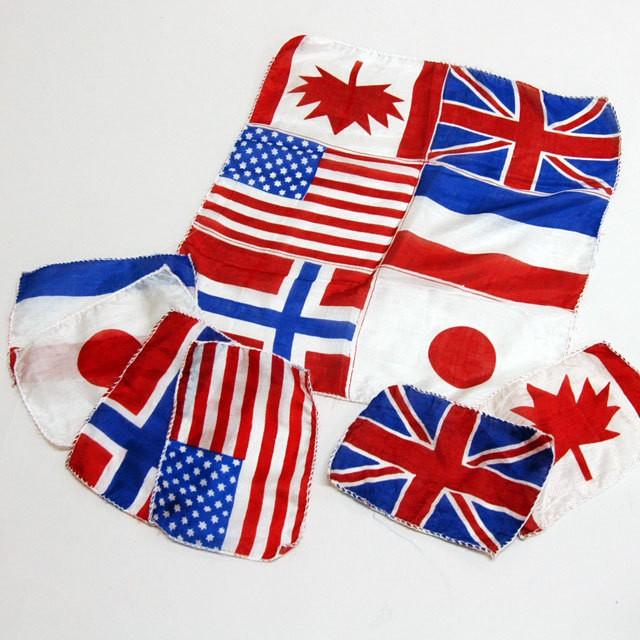 ◆マジック・手品◆ブレンド万国旗◆S5116