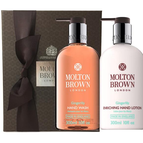 MOLTON BROWN(モルトンブラウン) ジンジャーリリー ハンドウォッシュ + ジンジャーリリー ハンドローション ギフトセット
