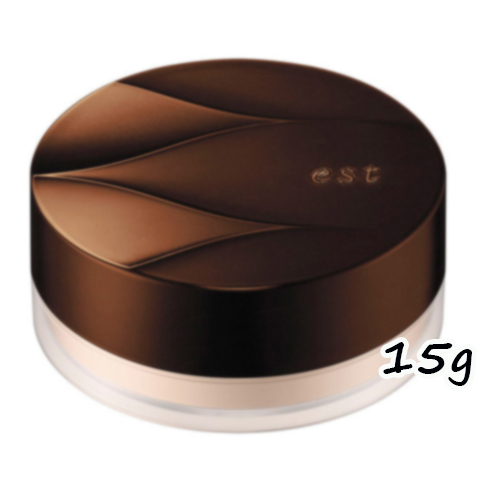 ツヤ感を上質な輝きに変貌させるestの持続系ルースパウダー パールタイプ est エスト 最新アイテム 通販 ロングラスティング ルースパウダー パール 15g