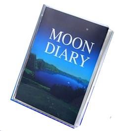『ムーンダイアリー』自分自身の占い本を作る 運勢 運命 ムーンダイアリー 2~3週間後に出荷 送料無料・