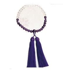 【大感謝価格 】紫水晶御念珠 グラデーションタイプ