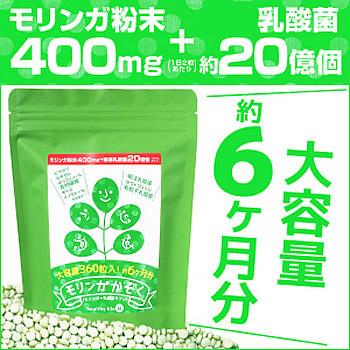ダイエットサプリ 食べる 国産 ダイエット モリンガ ダイエット食品 食欲抑制 緑茶 もりんが モリンガサプリメント ダイエット (360粒) ギムネマ ダイエット執事