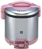 大感謝価格『リンナイ ガス炊飯器 RR-055GS-D(RP)LP(ローズピンク)』送料無料5.5合 プロパン用 リンナイ ガス炊飯器 RR-055GS-D(RP)LP(、突然の欠品終了あり、返品キャンセル不可)