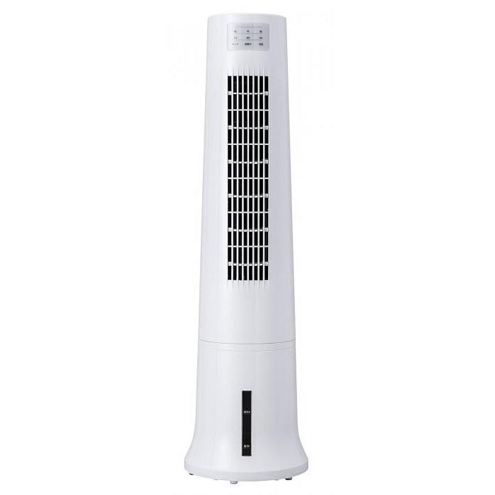 【大感謝価格 】タワー冷風扇 アクアスリムクール ホワイト RF-T1800WH