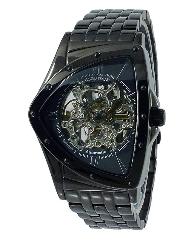 【大感謝価格 】コグ COGU 流通限定モデル フルスケルトン 自動巻き 腕時計 BNT-BBK