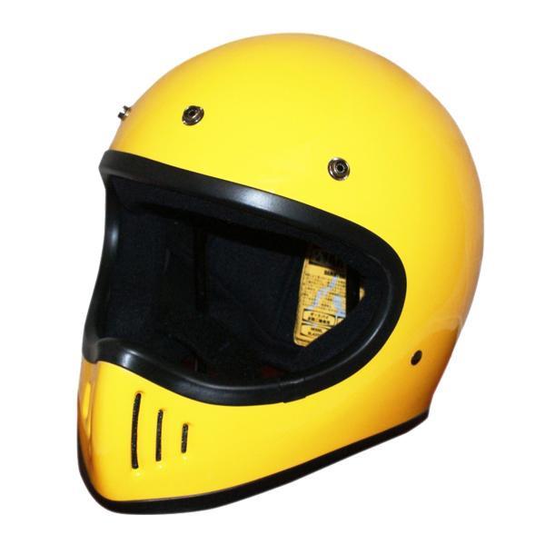 ダムトラックス(DAMMTRAX) BLASTER-改 ヘルメット YELLOW L【割引不可・返品キャンセル不可】
