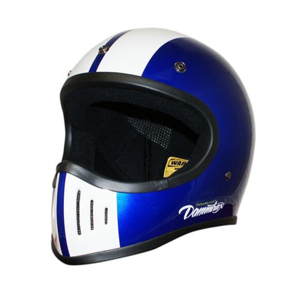 ダムトラックス(DAMMTRAX) BLASTER-改 コブラ ヘルメット BLUE M【割引不可・返品キャンセル不可】