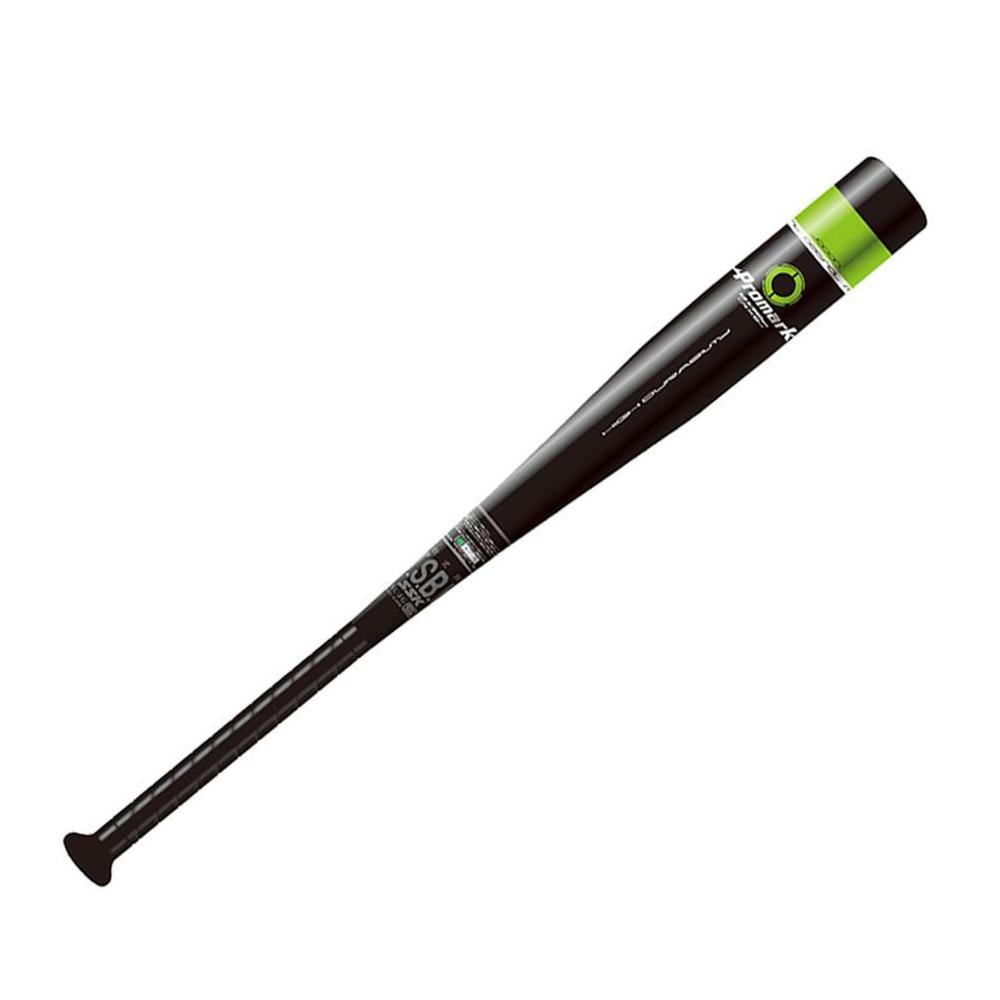 Promark プロマーク J.S.B.B公認 金属製バット 軟式一般 コルク入り ミドルヒッター用 ブラック ATP-840Cスピニング 野球 スイング【割引不可・返品キャンセル不可】