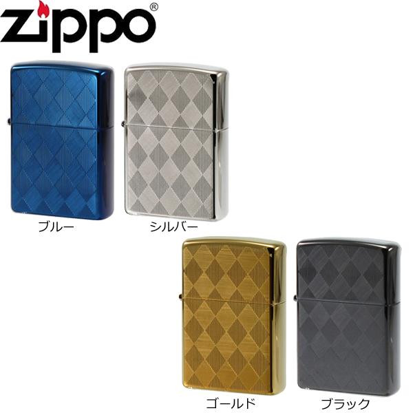ZIPPO(ジッポー) ライター チタンコーティング アーガイル【割引不可・返品キャンセル不可】