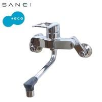 三栄水栓 SANEI キッチン用(壁付) シングル混合栓 K17110ED-13【割引不可・返品キャンセル不可】