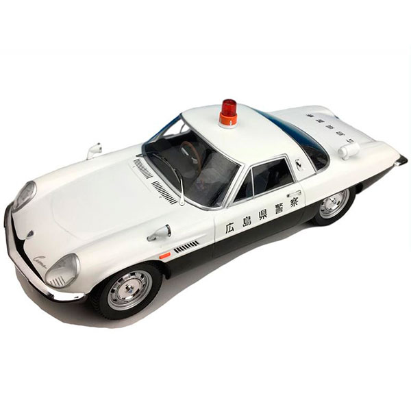 First18/ファースト18 マツダコスモスポーツ 広島県警察 警察車両 1/18スケール F18010【割引不可・返品キャンセル不可】