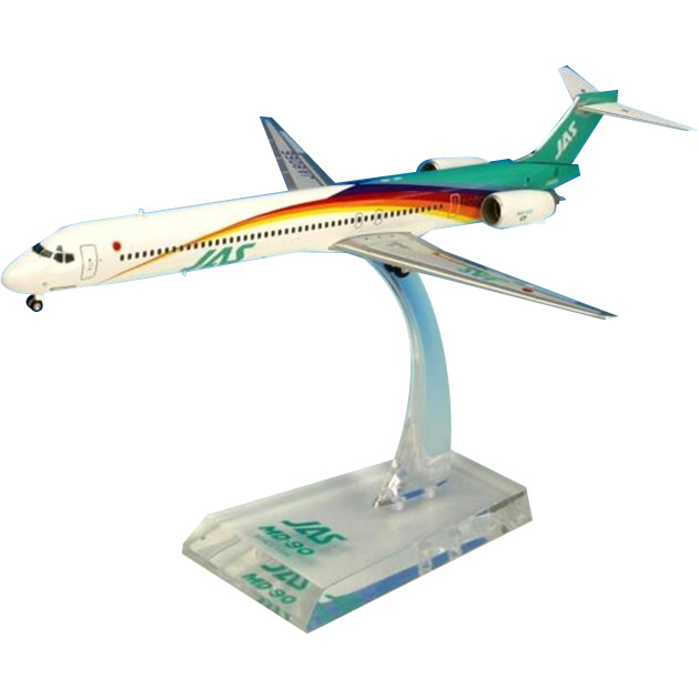 JAL/日本航空 JAS MD-90 5号機 ダイキャストモデル 1/200スケール BJE3038【割引不可・返品キャンセル不可】