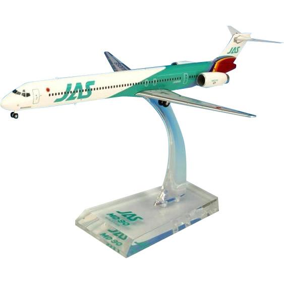 JAL/日本航空 JAS MD-90 6号機 ダイキャストモデル 1/200スケール BJE3039【割引不可・返品キャンセル不可】