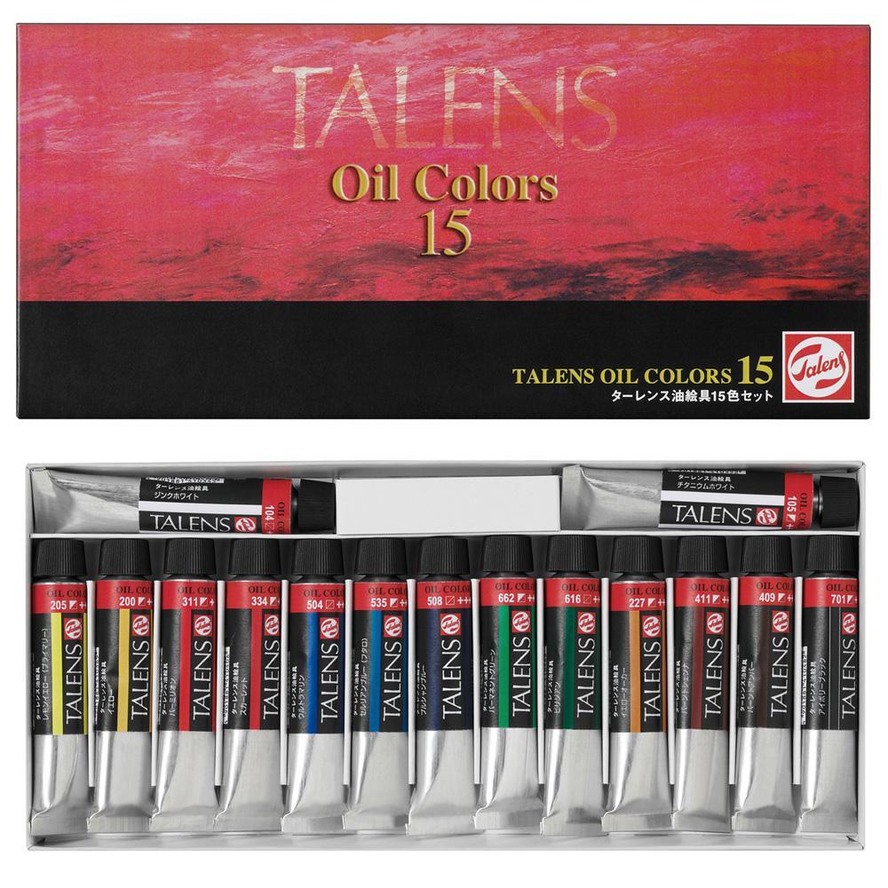 教材で使用するのに最適な油絵具 ターレンス 油絵具15色セット 12ml TJOC-15 410332 返品キャンセル不可 2020 割引不可 新作製品 世界最高品質人気