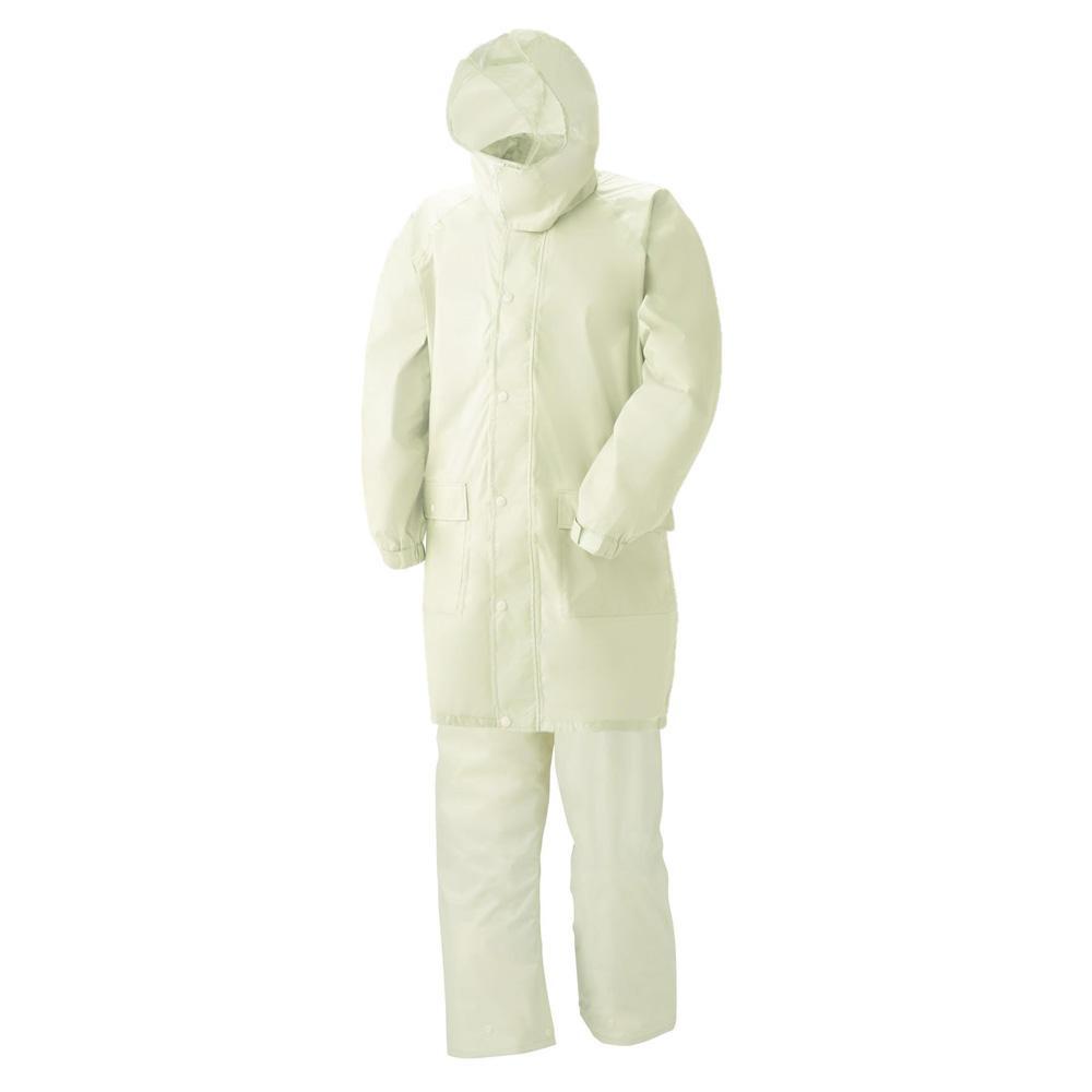 スミクラ レインウェア 透湿レインスーツ リュック型 A-622 アイボリー BEL【割引不可・返品キャンセル不可】