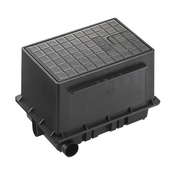 三栄 SANEI 散水栓ボックスセット 黒 R81-92S-D【割引不可・返品キャンセル不可】
