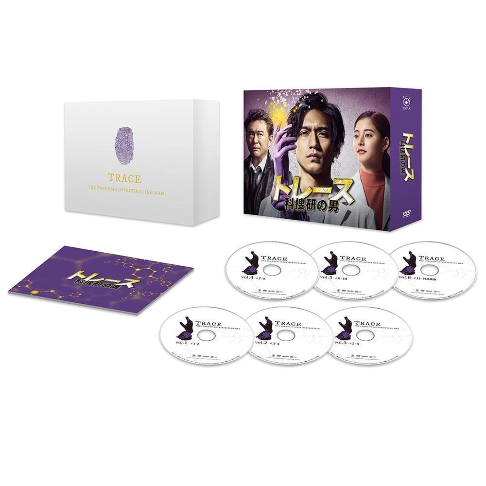 トレース~科捜研の男~ DVD-BOX TCED-4517【割引不可・返品キャンセル不可】