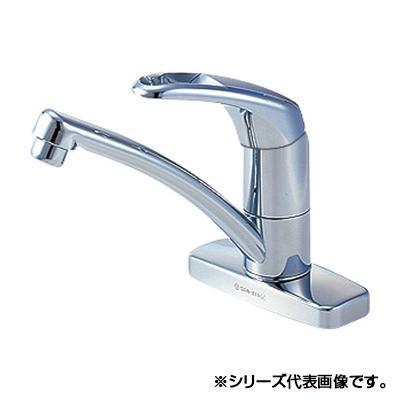 三栄 SANEI Modello シングル台付混合栓 寒冷地用 K7761K-13【割引不可・返品キャンセル不可】
