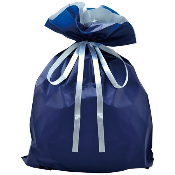 ササガワ タカ印 50-3660 巾着袋 ネイビー 特大 50P【割引不可・返品キャンセル不可】
