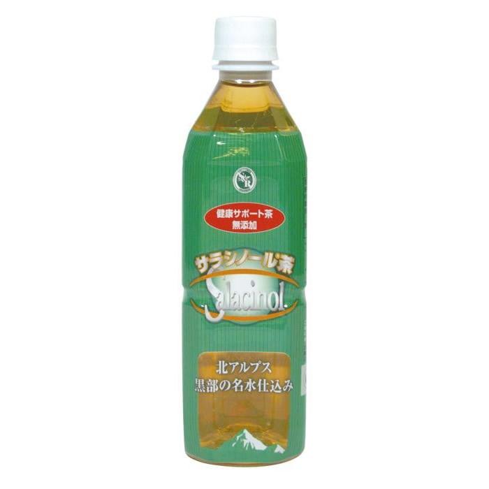 メーカー直送品ジャパンヘルス サラシノール健康サポート茶 500ml×24本食事 自然 無添加【割引不可・返品キャンセル不可】