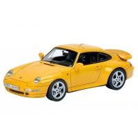 Schuco/シュコー ポルシェ 911 (993) ターボ スピードイエロー 1/43スケール 450887600【割引不可・返品キャンセル不可】