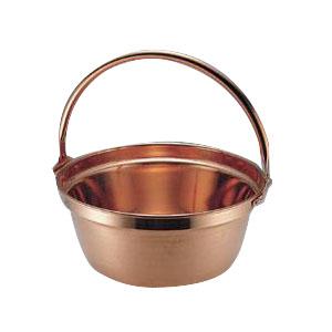 1100102 MT 銅 山菜鍋(吊付) 33cm【割引不可・返品キャンセル不可】