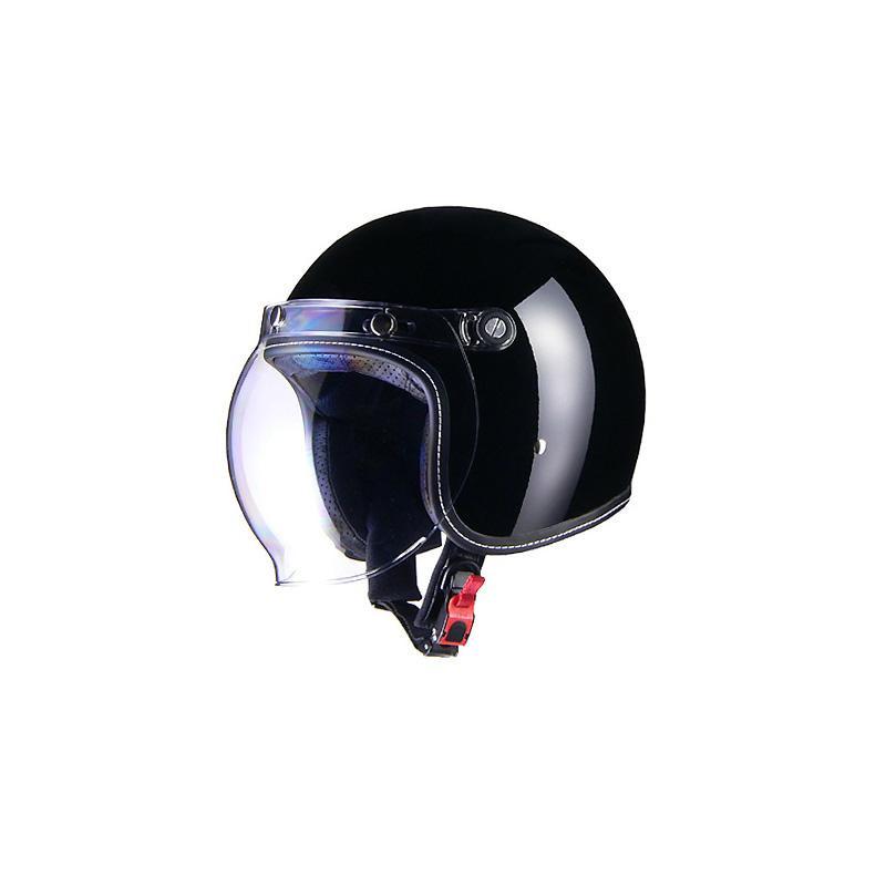 リード工業 Murrey ジェットヘルメット ブラック Mサイズ MR-70【割引不可・返品キャンセル不可】