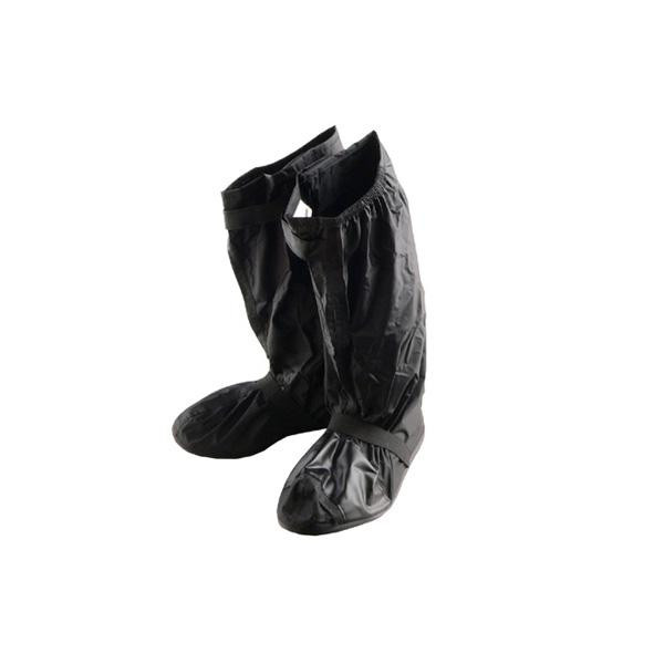 ファッション通販 膝下まで覆えるブーツカバー リード工業 Landspout ブーツカバー ソール付き 割引不可 返品キャンセル不可 RW-053A Mサイズ 大決算セール ブラック