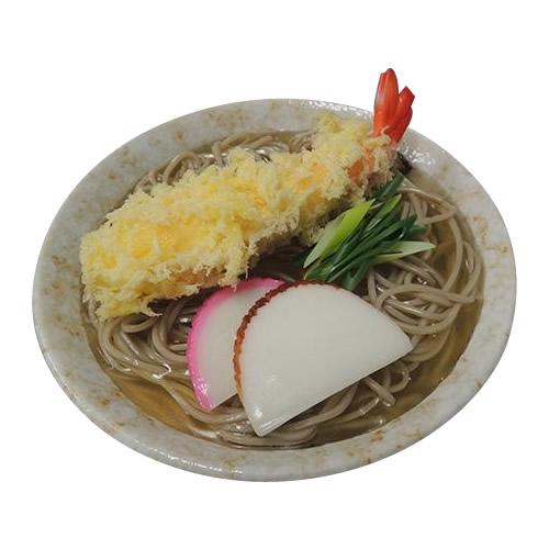 日本職人が作る 食品サンプル 天ぷらそば IP-426【割引不可・返品キャンセル不可】