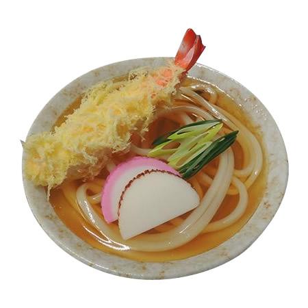 日本職人が作る 食品サンプル 天ぷらうどん IP-427【割引不可・返品キャンセル不可】