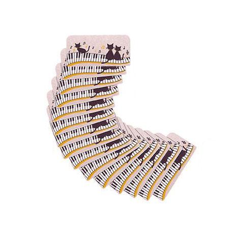 サンコー おくだけ吸着 階段マット 黒ネコ 15枚入 KM-10消臭 キズ 洗濯【割引不可・返品キャンセル不可】