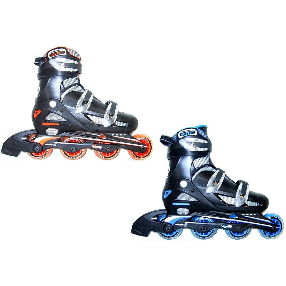NLS122 24cm~27cm【割引不可・返品キャンセル不可】 Calipro インラインスケート アジャスタブルタイプ