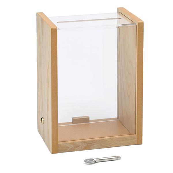 コレクト 窓口ボックス 中 錠つき M-523【割引不可・返品キャンセル不可】