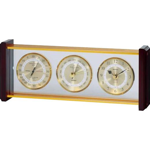 EMPEX(エンペックス気象計) スーパーEX気象計・時計 EX-743【割引不可・返品キャンセル不可】