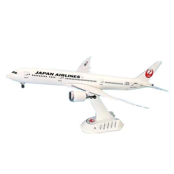 JAL/日本航空 JAL B787-9 サウンドジェットモデル 1/200スケール BJQ1175ミニチュア 音が鳴る オブジェ【割引不可・返品キャンセル不可】