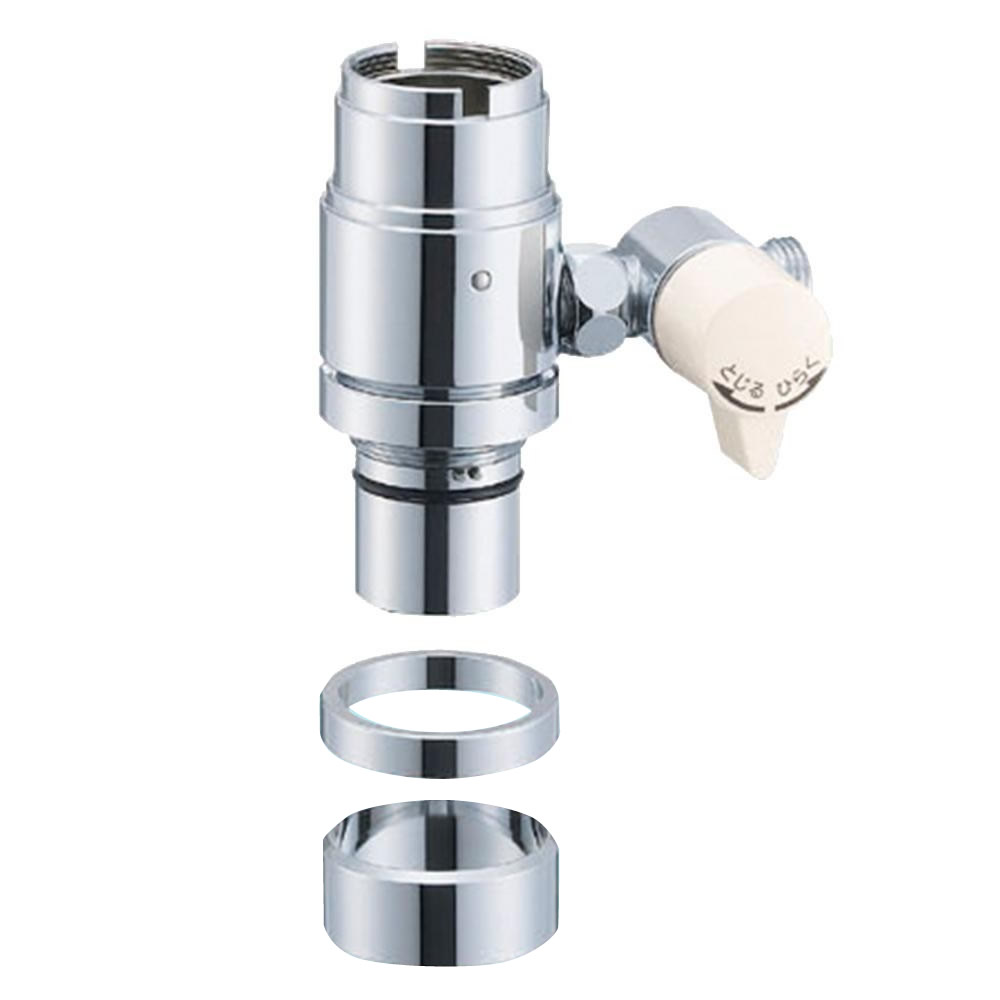 三栄水栓 SANEI シングル混合栓用分岐アダプター INAX用 B98-2B【割引不可・返品キャンセル不可・同梱不可・メーカー直送の場合あり】