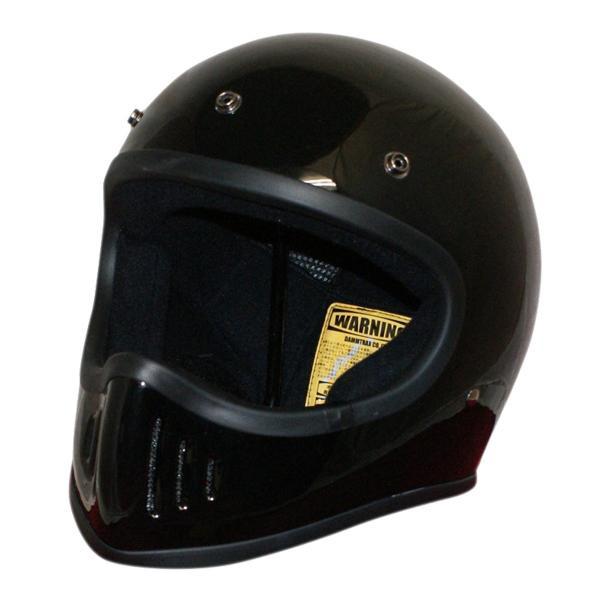 ダムトラックス(DAMMTRAX) BLASTER-改 ヘルメット BLACK L【割引不可・返品キャンセル不可】