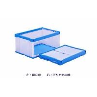 メーカー直送品三甲 サンコー オリコンラック(扉付オリコン) P75B-D(長側扉なし) ホワイト/ブルー 555870【割引不可・返品キャンセル不可】
