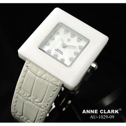 ANNE CLARK セラミック レディースウォッチ AU1029-09【取り寄せ品キャンセル返品不可、割引不可】