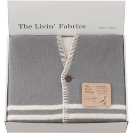 The Livin? Fabrics 泉大津産ウェアラブルケット C8140059【取り寄せ品キャンセル返品不可、割引不可】