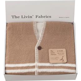 The Livin? Fabrics 泉大津産ウェアラブルケット C8140045【取り寄せ品キャンセル返品不可、割引不可】