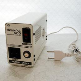 スワロー電機 【受注生産のため納期約2週間】ダウントランス 220・230V→100V / 500W PAL-500EP【取り寄せ品キャンセル返品不可、割引不可】