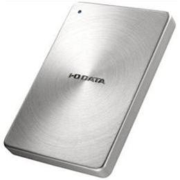 IOデータ USB 3.0/2.0対応 ポータブルハードディスク「カクうす」 1.0TB シルバー HDPX-UTA1.0S【取り寄せ品キャンセル返品不可、割引不可】