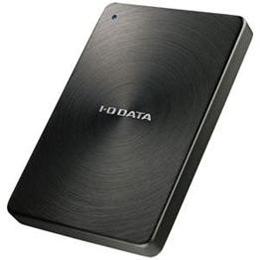 IOデータ USB 3.0/2.0対応 ポータブルハードディスク「カクうす」 2.0TB ブラック HDPX-UTA2.0K【取り寄せ品キャンセル返品不可、割引不可】