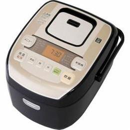 アイリスオーヤマ 圧力IH炊飯ジャー「米屋の旨み-銘柄炊き」(5.5合) KRCPA50B【取り寄せ品キャンセル返品不可、割引不可】
