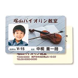インクジェット用IDカード(穴なし)100シート入り【取り寄せ品キャンセル返品不可、割引不可】