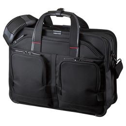 サンワサプライ エグゼクティブビジネスバッグPRO(ダブル) BAG-EXE8【取り寄せ品キャンセル返品不可、割引不可】