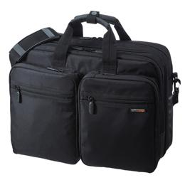 サンワサプライ 3WAYビジネスバッグ(出張用) BAG-3WAY21BK【取り寄せ品キャンセル返品不可、割引不可】